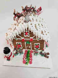 Winter 27 Classic Gingerbread House