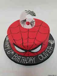 Superheroes 36 Minimalist Spiderman Birthday Cake