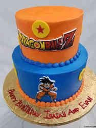 TV 35 Dragonball Z Birthday Cake