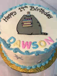 Pop 27 Pusheen Birthday Cake