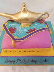 Movies 37 Aladdin Birthday Cake