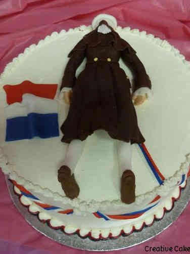 Summer 06 Dead Robespierre Bastille Day Cake