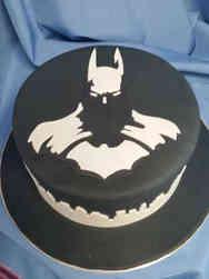 Pop 23 Minimalist Batman Birthday Cake