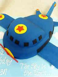 Unique 34 Cartoon Airplane Birthday Cake