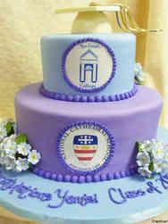 High School 10 School Logos High School Graduation Cake