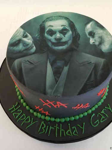 Pop 53 The Joker Birthday Cake