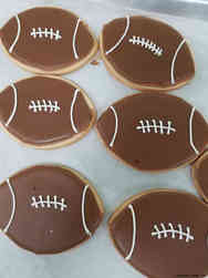 Cookies 40 Football Celebration Cookies