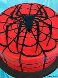 Pop 41 Spiderman Birthday Cake