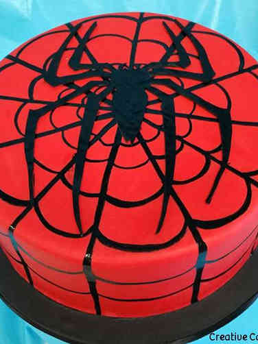 Pop 41 Spiderman Birthday Cake