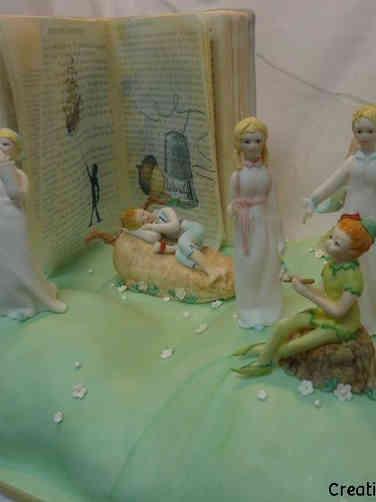 Neutral 41 Amazing Storybook Baby Shower Cake