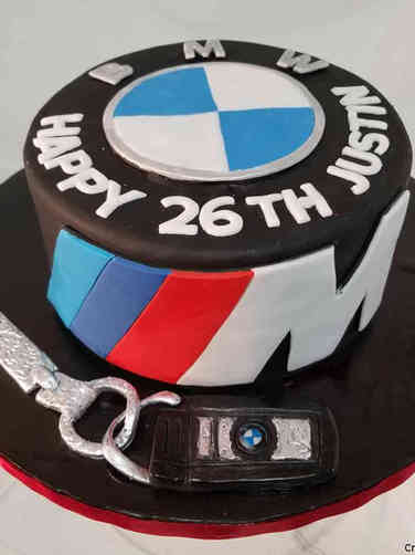 Hobbies 54 BMW Birthday Cake