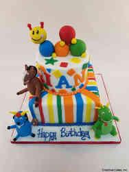 TV 41 Baby Einstein Birthday Cake