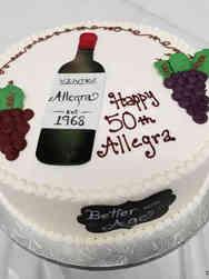 Food 03 Red Wine Birthday Cake