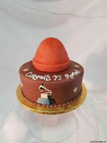 Professional 23 Grammy Award Celebration Cake