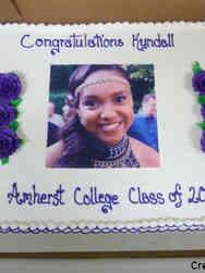 College 19 Graduate Photo College Graduation Cake