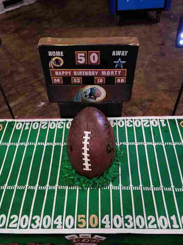 Sports 15 Washington Redskins FedEx Field Birthday Cake
