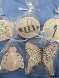 Cookies 33 Adorable Insect Baby Shower Cookies