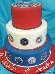 Corporate 01 Boy Scouts of America Celebration Cake