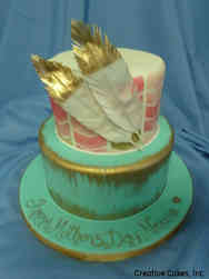 Spring 06 Boho Mothers' Day Celebration Cake