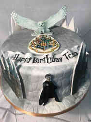 Movies 36 Harry Potter Images Birthday Cake