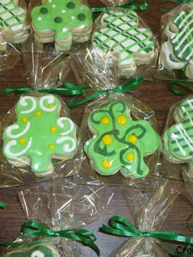 Cookies 25 Shamrock St. Patrick's Day Cookies