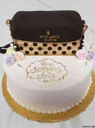 Fashion 26 Kate Spade Purse Birthday Cake