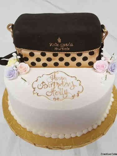Fashion 26 Kate Spade Purse Birthday Cake