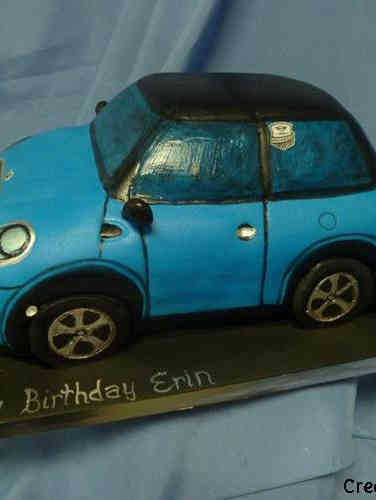 Hobbies 37 3D Mini Cooper Birthday Cake