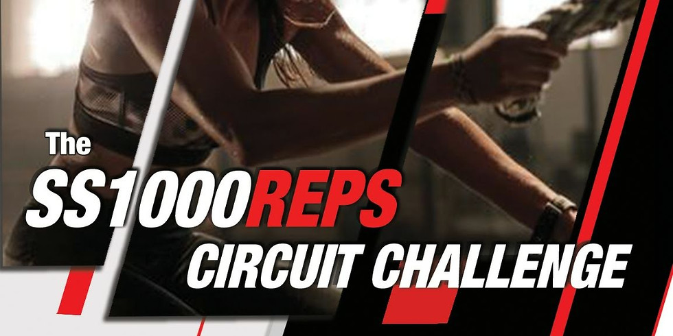 Shape Shifters 1000 reps - Circuit challenge