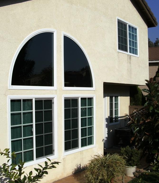 Fixed Arched Windows
