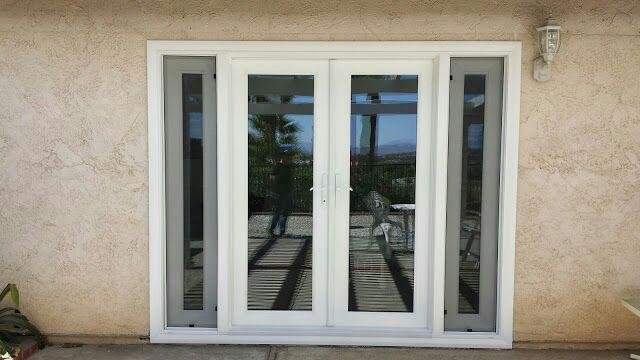 Double French Doors w/ Operable Pane