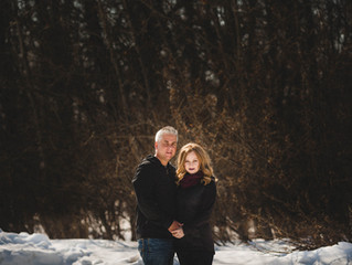 Troy & Angela's 25th Anniversary | St. Paul, Alberta Couples Session