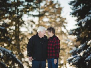 Linda & Dennis | St. Paul, Alberta Couple Session