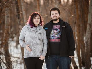 Kennedi & Tyler | St. Paul, Alberta Maternity Session