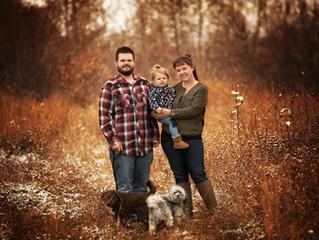 Tyler, Kennedi & Abby | St. Paul, Alberta Family Session