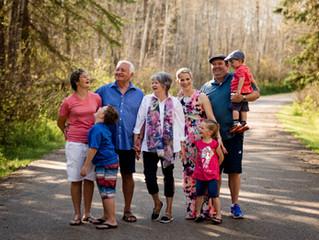The Bothas | St. Paul, Alberta Family Session