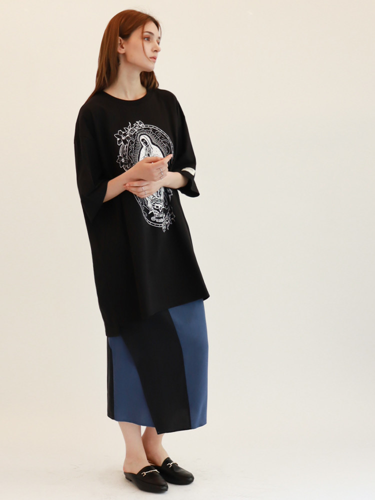Virgend De Guadalupe T-shirt / Black