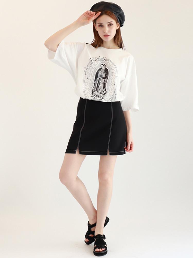 Virgend De Guadalupe T-shirt / White