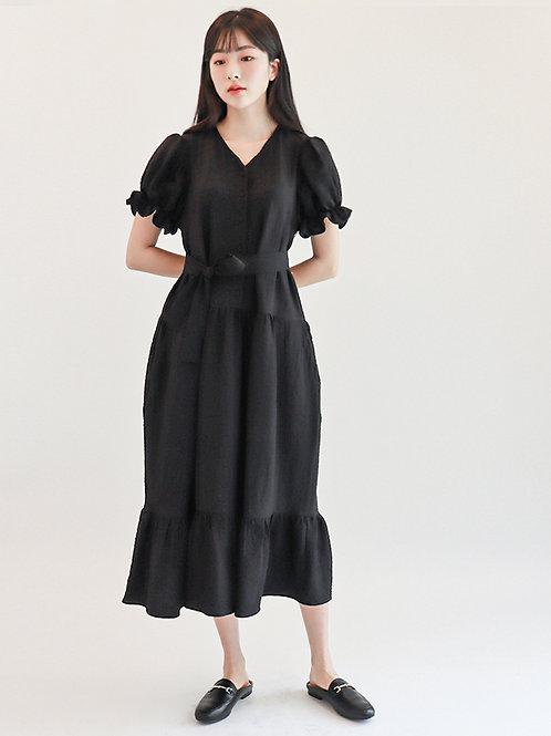 [Monteeth] Mongsang Dress in Black