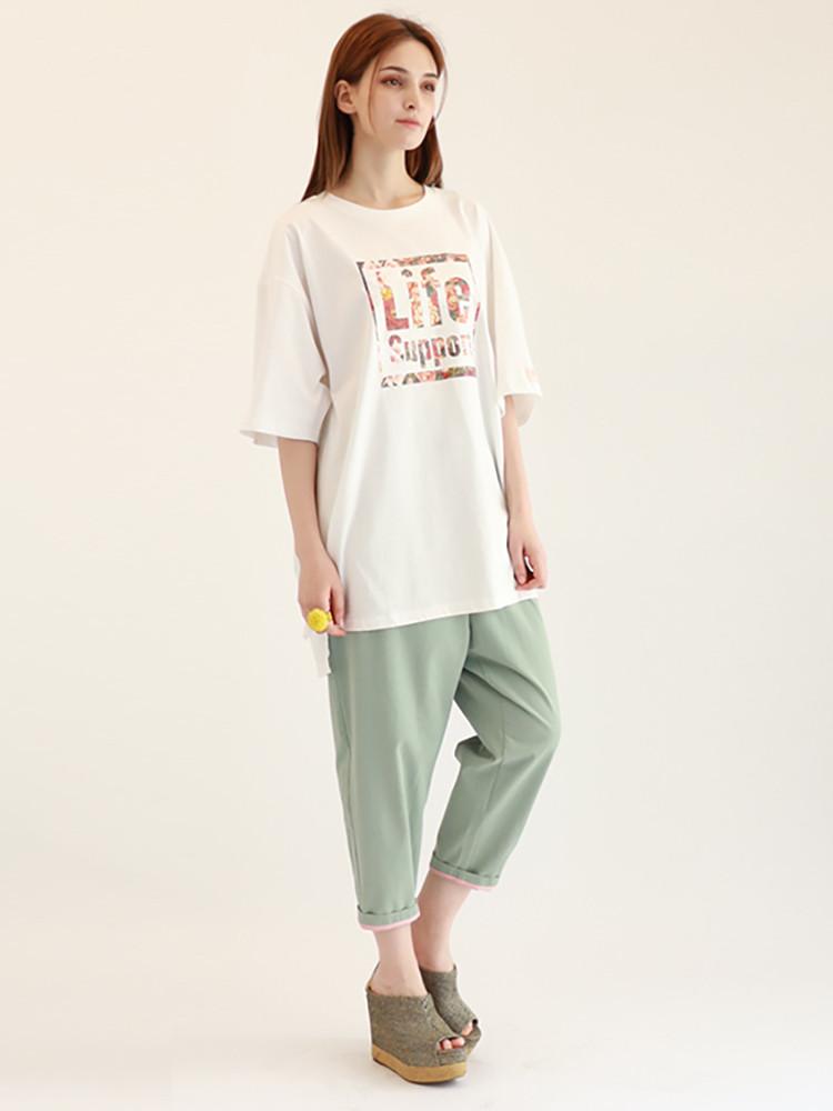 티셔츠-라Life Support T-shirt / White이프서포트_0003_04.jpg