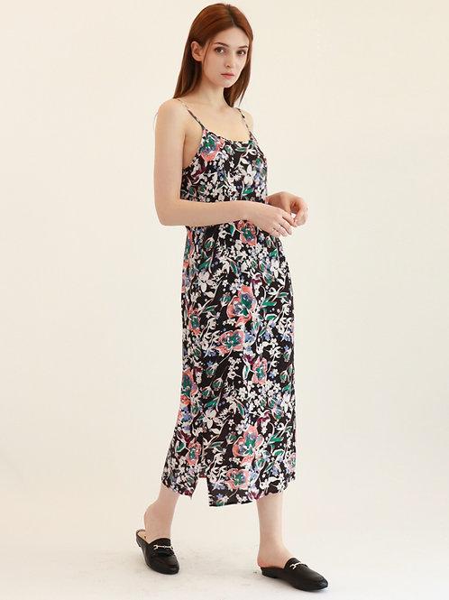 [Monteeth] Holiday Slip Dress in Black