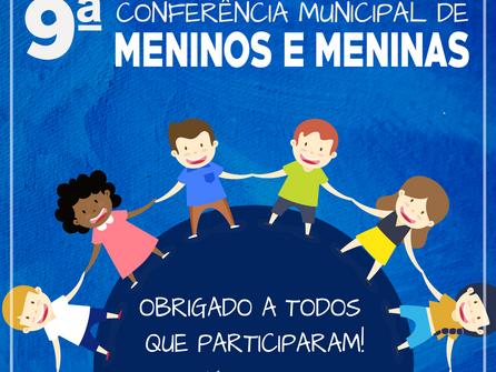 Conferência promove reflexões sobre políticas públicas para meninos e meninas