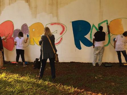Evento CURA RUA promove  atividades artísticas para jovens do Abrigo de Adolescentes