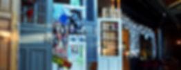 raumbauten - Restaurant Bullerei - Hamburg - Tim Mälzer - hängende Türen - Möbel