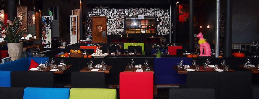 raumbauten - Restaurant Bullerei - Hamburg - Tim Mälzer - Polstermöbel - Möbel