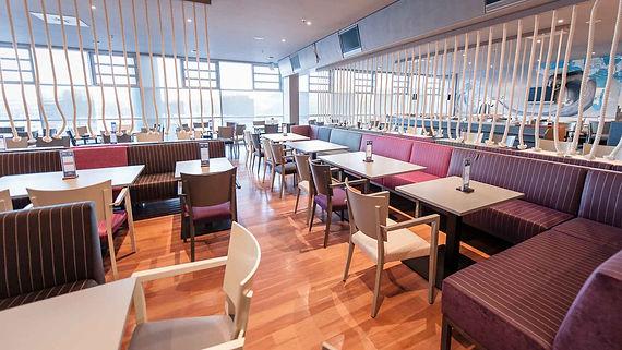 raumbauten - Raumgestaltung - Platin Lounge - Hamburg - Tim Mälzer - HSV