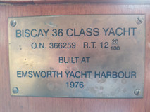 Built in Emsworth 200m from home!