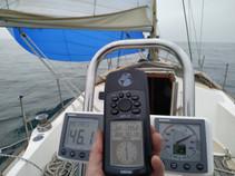 4.6 kn in 2.9 kn true wind .. nice!