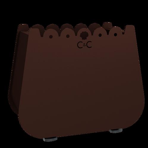 Jardinière Kelly - Chocolat