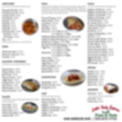 Menu Little Italy Express Abilene Restaurant